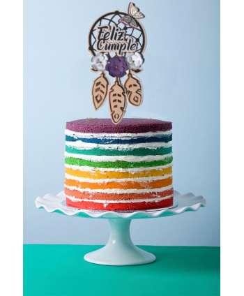 Atrapasueños decoración de tartas de cumpleaños