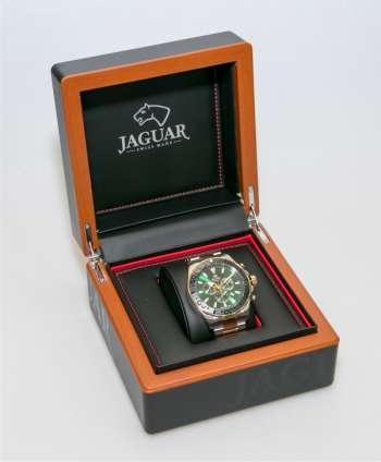 Reloj Jaguar cristal zafiro y esfera verde