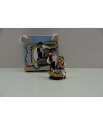 Nacimiento canario miniatura 4 cm
