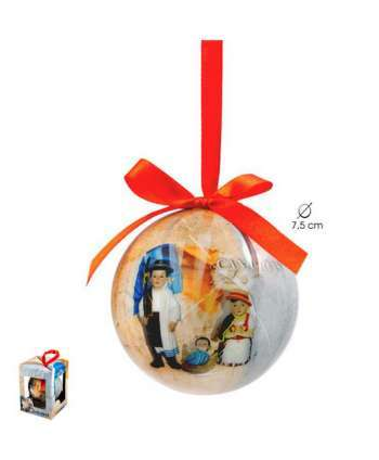 """Bola de navidad """"Canaria"""""""