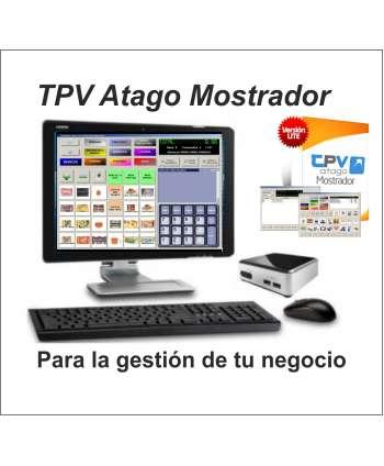 """Ordenador TPV  KIT Intel NUC + Pantalla LG 20"""" + Teclado Y Ratón + Software Atago"""