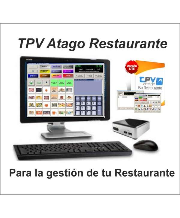 """Ordenador Kit TPV + Pantalla LG 20"""" + Teclado Y Ratón + Cajón + Impresora Ticket+ Software Restaurante PC y Android"""