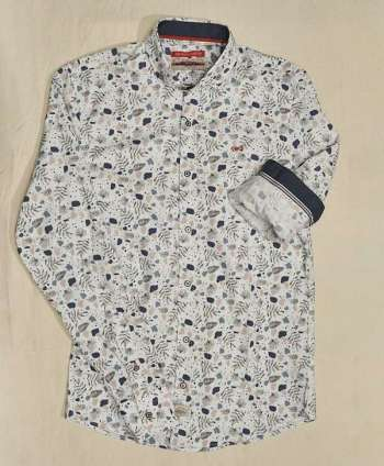 Camisa Dark & Fish Estampada