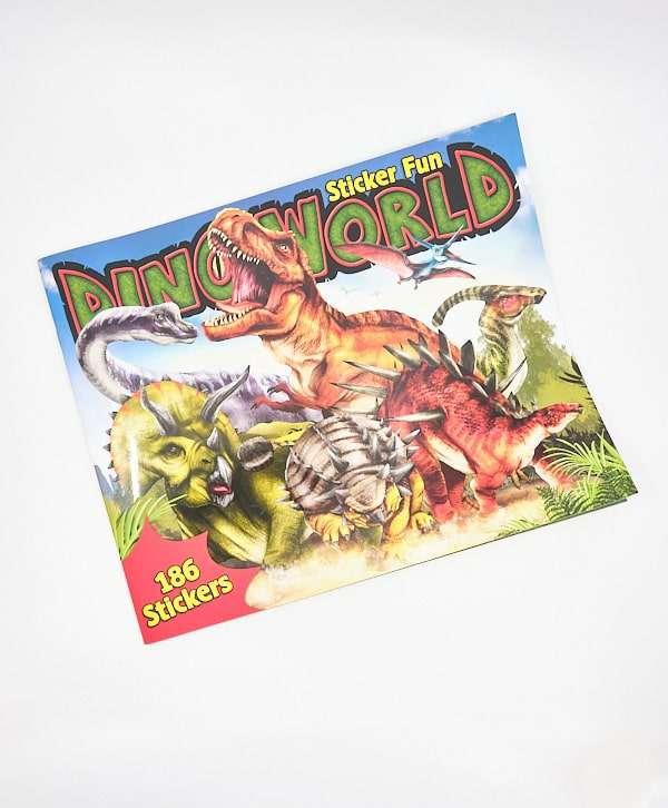 Dino World Stickerfun con 186 Stickers