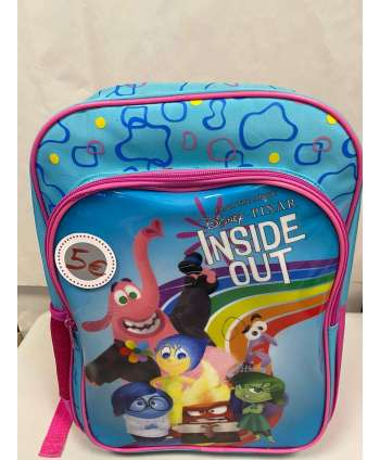 MOCHILA ESCOLAR INSIDE OUT DISNEY