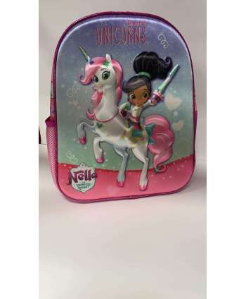 MOCHILA ESCOLAR UNICORNS
