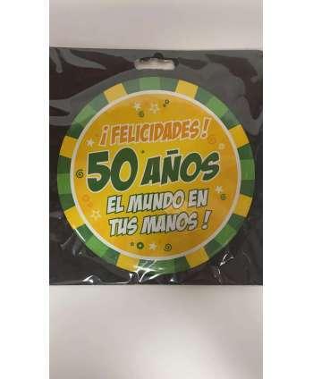 BROCHE 50 AÑOS