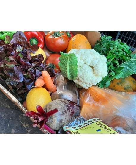 Cesta de frutas y verduras