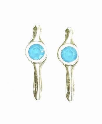 Pendientes Garoé (azul)