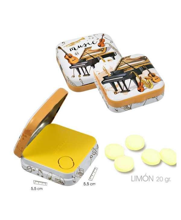 Pastillas de limón (sin azúcar)